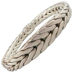 JOHN HARDY Sterling Silver Braided Snake Chain Bracelet