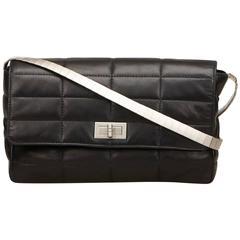 Chanel Black Reissue Lambskin Classic Flap