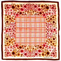 Emanuel Ungaro Scarf - 100% Silk