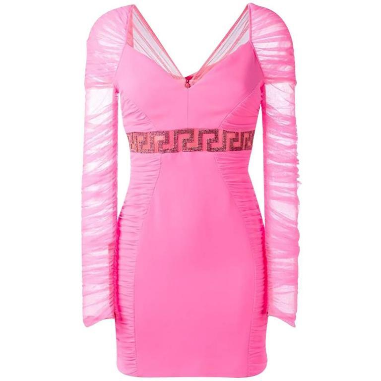 Pink Versace Dress Weddings Dresses