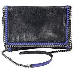 Black & Blue Stella McCartney Falabella Crossbody Bag