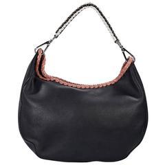 Black Marni Leather Hobo Bag