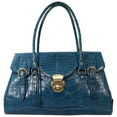 Teal Ghurka Shoulder Bag