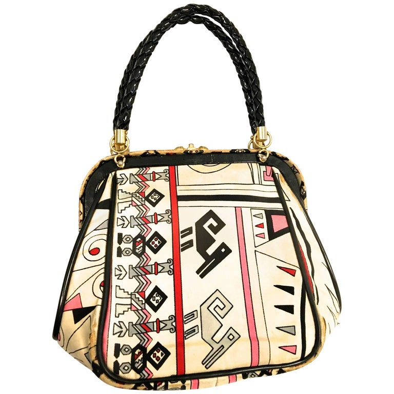 Rare Emilio Pucci Purse - 1960's For Sale