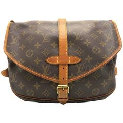 Louis Vuitton Sologne Brown Monogram Canvas Shoulder Bag