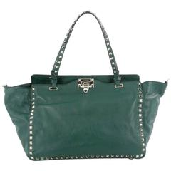 Valentino Rockstud Tote Soft Leather Medium