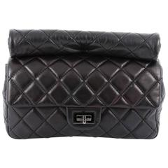 Chanel Reissue Roll Clutch Quilted Lambskin Medium