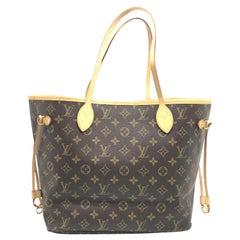 Louis Vuitton Neverfull MM Brown Monogram Canvas Shoulder Bag