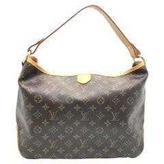 Louis Vuitton Delightful PM Brown Monogram Canvas Shoulder Bag