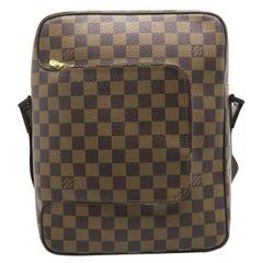 Louis Vuitton Olav MM Brown Damier Shoulder Bag