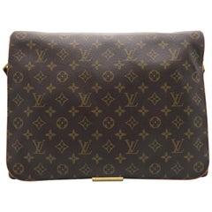 Louis Vuitton Abbeses Brown Monogram Canvas Shoulder Bag