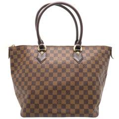 Louis Vuitton Saleya MM Brown Damier Shoulder Bag