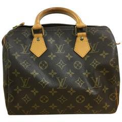 Louis Vuitton Speedy Handbag Monogram Canvas 25