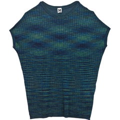 M Missoni Green and Navy Top Sz IT50