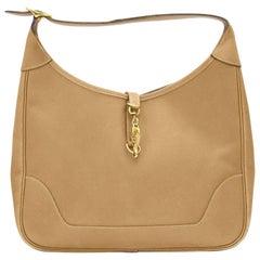 1970's Tan Leather Hermès Trim II 31
