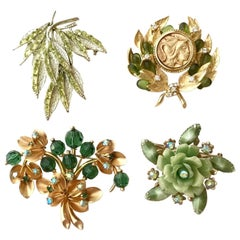 1950s and 1960s  Vintage Assortment Brooches