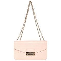 Furla Pink Saffiano Julia Pochette Shoulder/Crossbody Bag