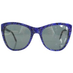 Stella McCartney Blue and Black Sunglasses