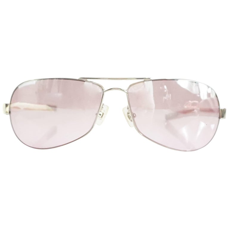 91557d133e2d Chrome Hearts Pink Sunglasses For Sale at 1stdibs