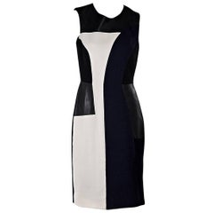 Multicolor Prabal Gurung Colorblock Sheath Dress