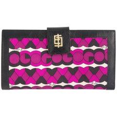 Vintage Emilio Pucci logo clutch wallet