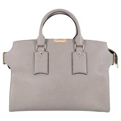Burberry Clifton Convertible Tote Heritage Grained Leather Large
