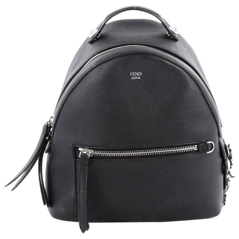 Fendi By The Way Backpack Leather with Crystals Mini at 1stdibs 0d7960bdf2a4a