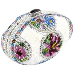Judith Leiber Faberge Egg Style Evening Bag Minaudiere