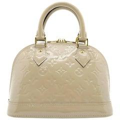 Louis Vuitton Alma BB Copper Vernis Satchel Bag