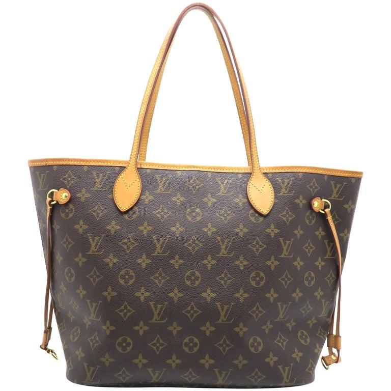 b3350347866b Louis Vuitton M40954 Neverfull Mm Shoulder Bag Epi Leather ...