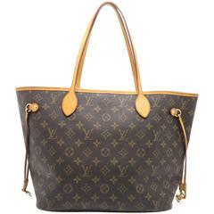 Louis Vuitton Neverfull MM Brown Monogram Shoulder Bag