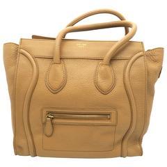 Celine Luggage Brown Calfskin Leather Handbag