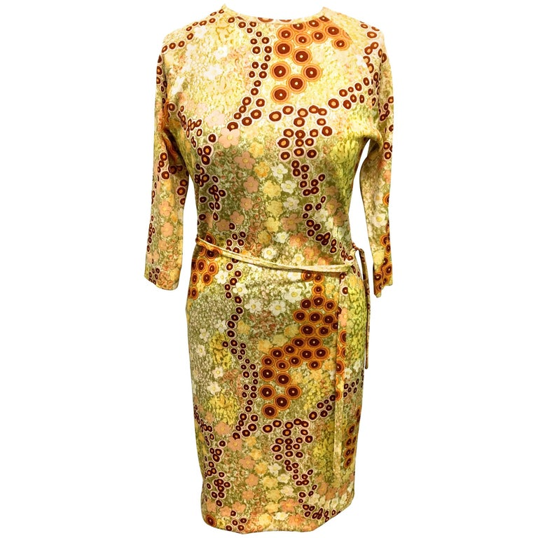 Vintage Goldworm Dress - 1960's
