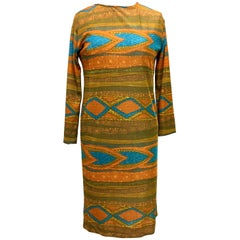 Vintage Goldworm Dress