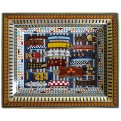 Hermes Limoges Porcelain Change Tray