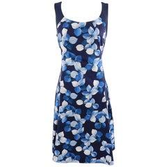 Jason Wu Blue Floral Cotton Dress