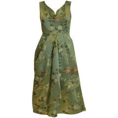 1950s Silk Cocktail Dress