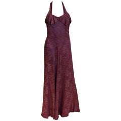 1930s Lame Gown by Elvena