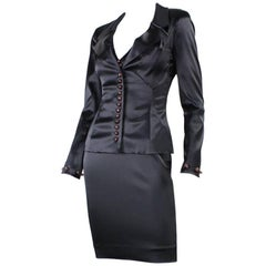 Chloe Little Black Cocktail Dress with Jacket