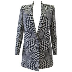 Istante By Gianni Versace Optical Printed Jacket