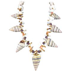 Miriam Haskell Shell Necklace