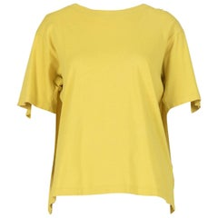 Maison Martin Margiela Yellow Cape T-Shirt