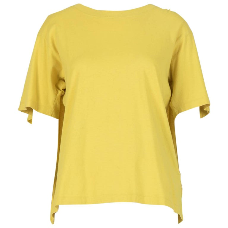 Maison Martin Margiela Yellow Cape T-Shirt
