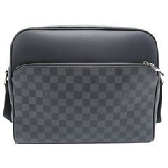 Louis Vuitton Dayton Reporter Black Damier Graphite Shoulder Bag