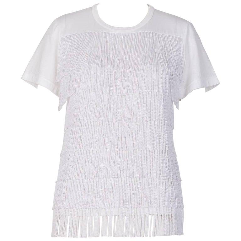 Junya Watanabe Tassel T-shirt