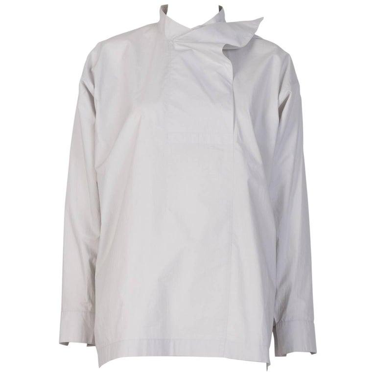 Issey Miyake Poplin Cotton Shirt