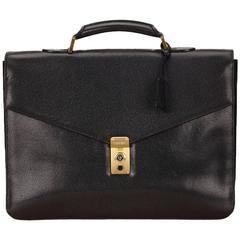 Chanel black Caviar Briefcase
