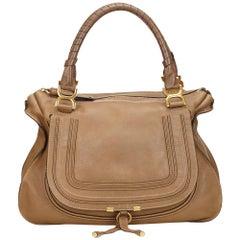 Chloe Brown Leather Marcie
