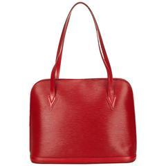 Louis Vuitton Red Epi Lussac