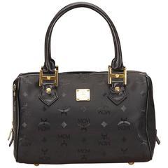 MCM Black PVC Handbag